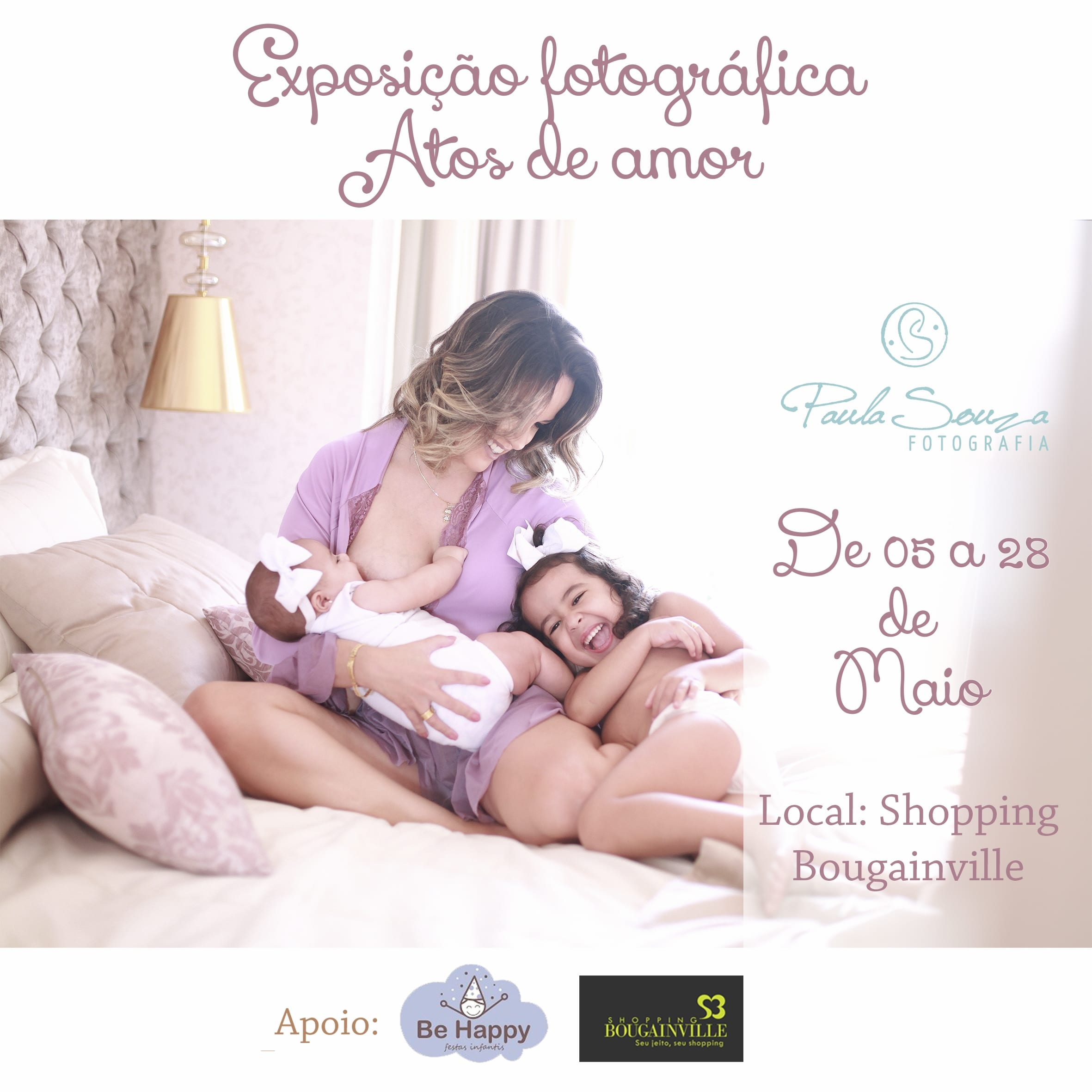 exposicao atos de amor, paula souza fotografia, newborn, gestante, goiania, goias, anapolis, brasilia, bougainville, shopping 1