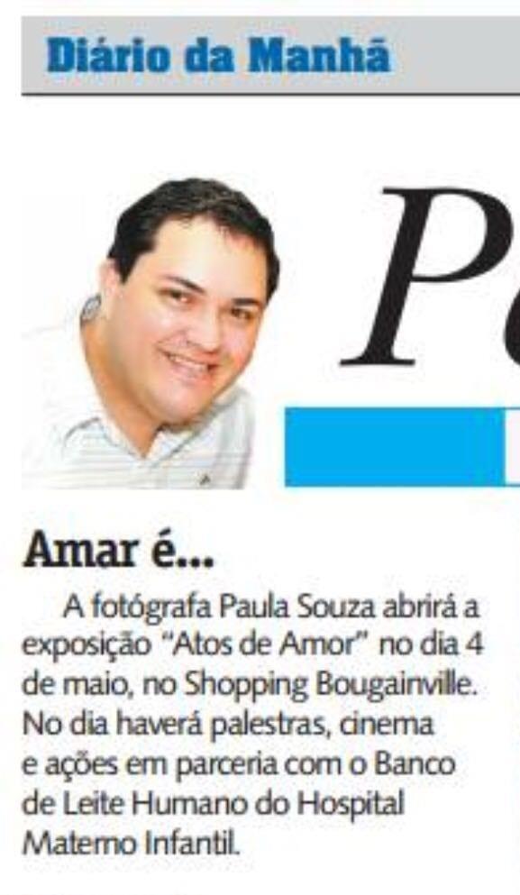 Diario da Manha, Paula Souza, Newborn, gestante, Goiania, Brasilia, Anapolis, Exposicao fotografica das maes - 2