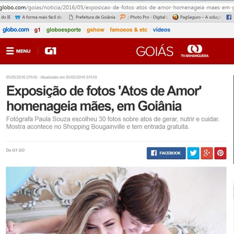 G1-Globo, Paula Souza, Newborn, gestante, Goiania, Brasilia, Anapolis, Exposicao fotografica das maes -