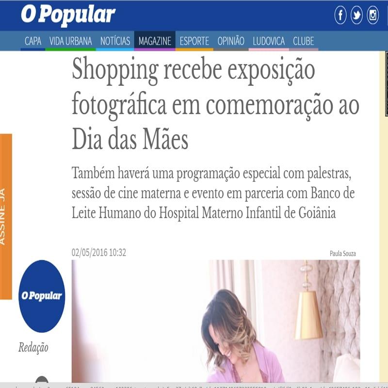 O Popular, Paula Souza, Newborn, gestante, Goiania, Brasilia, Anapolis, Exposicao fotografica das maes - (2)