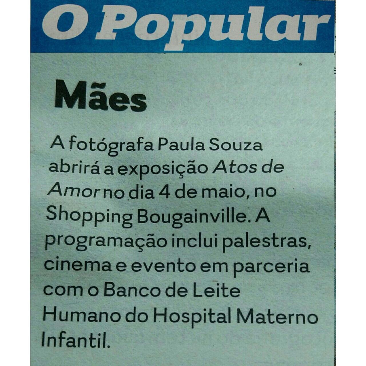O Popular, Paula Souza, Newborn, gestante, Goiania, Brasilia, Anapolis, Exposicao fotografica das maes - 5